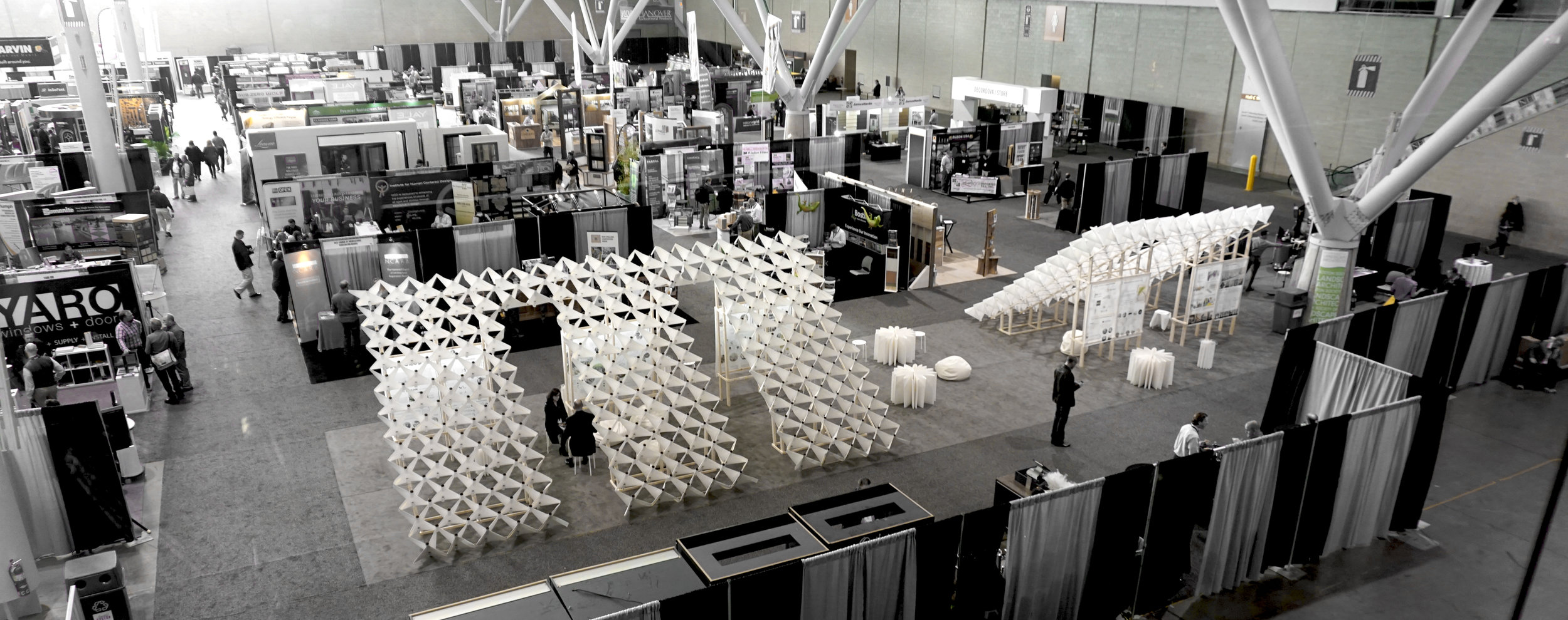 ABX 2016 Exhibit Hall with the winning competition by   KiKi ARCHi