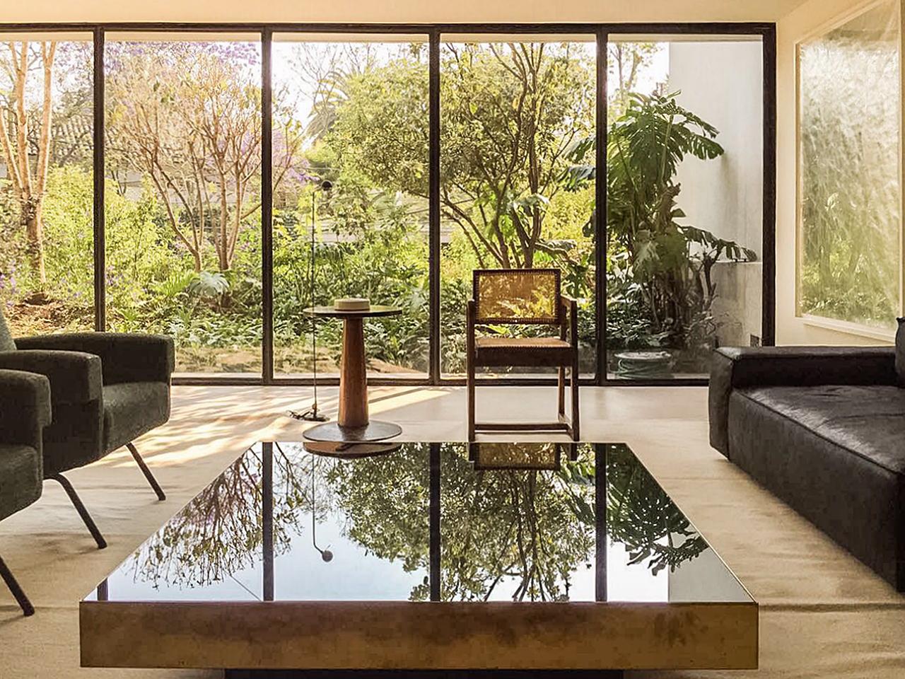 Townhouse Mexico city_Living Room_Marc Merckx Interiors