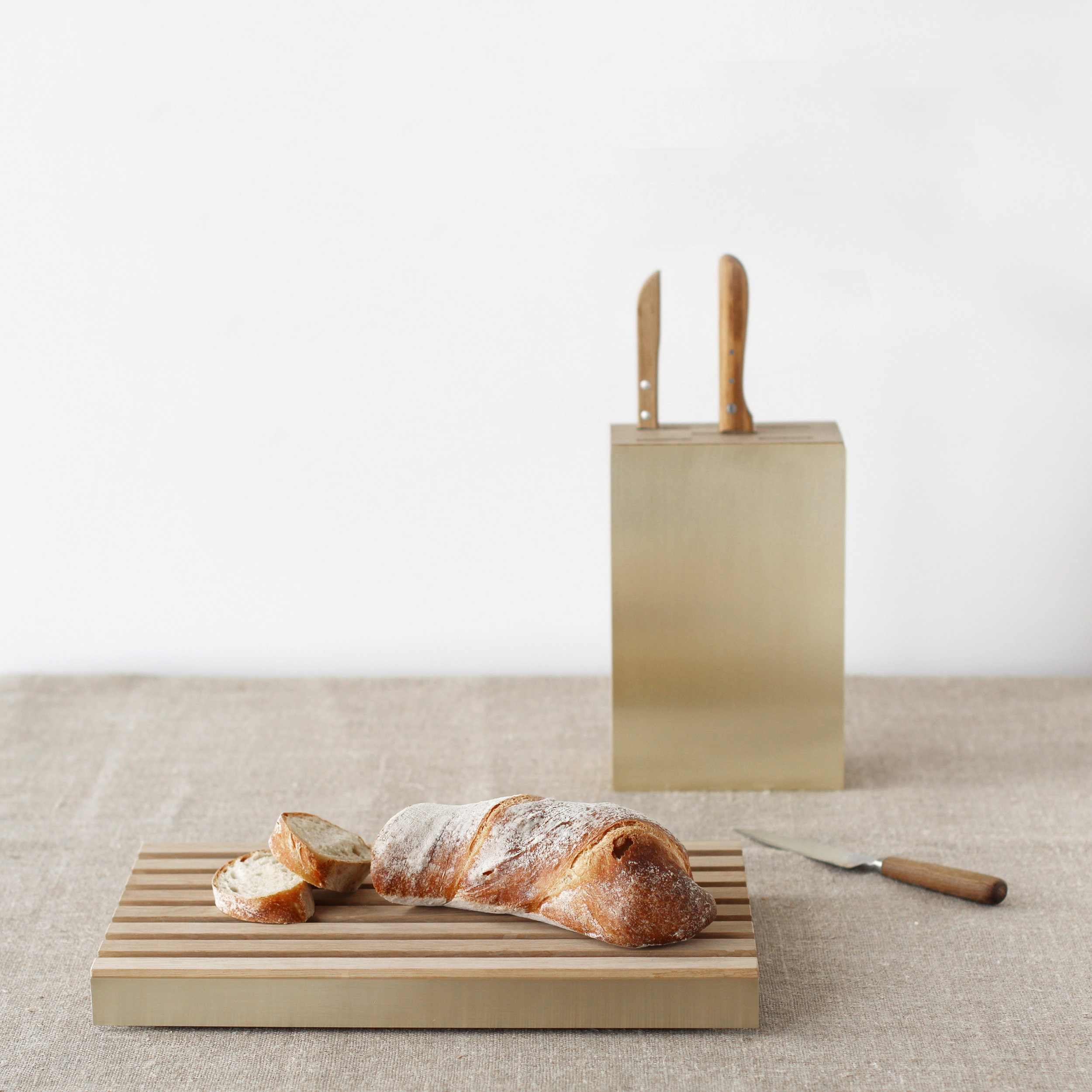 ICO_Everyday Objects_Cutting Board + Knife Block_Marc Merckx Interiors