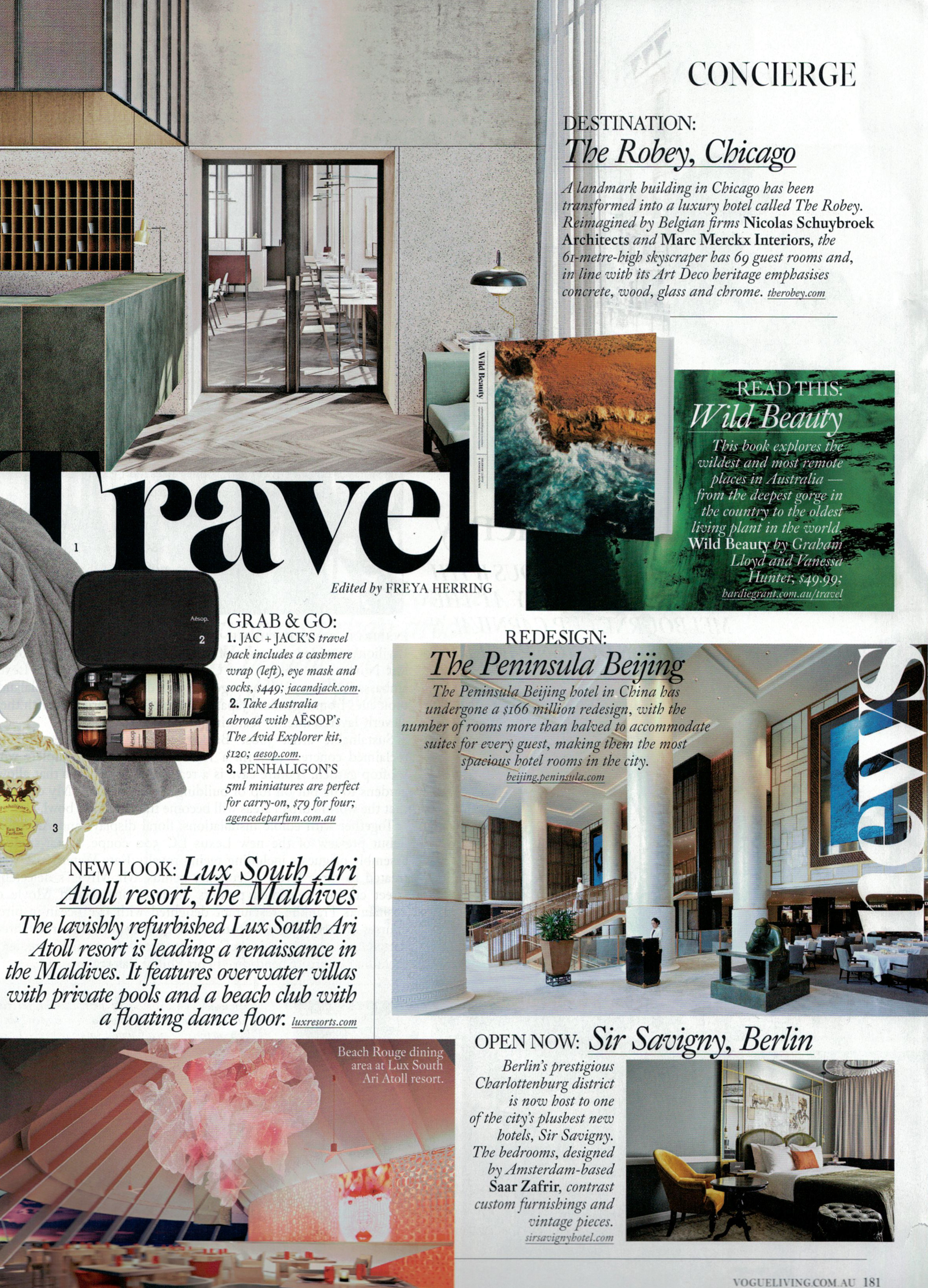 VOGUE LIVING_January 2017_The Robey Hotel_Marc Merckx Interiors