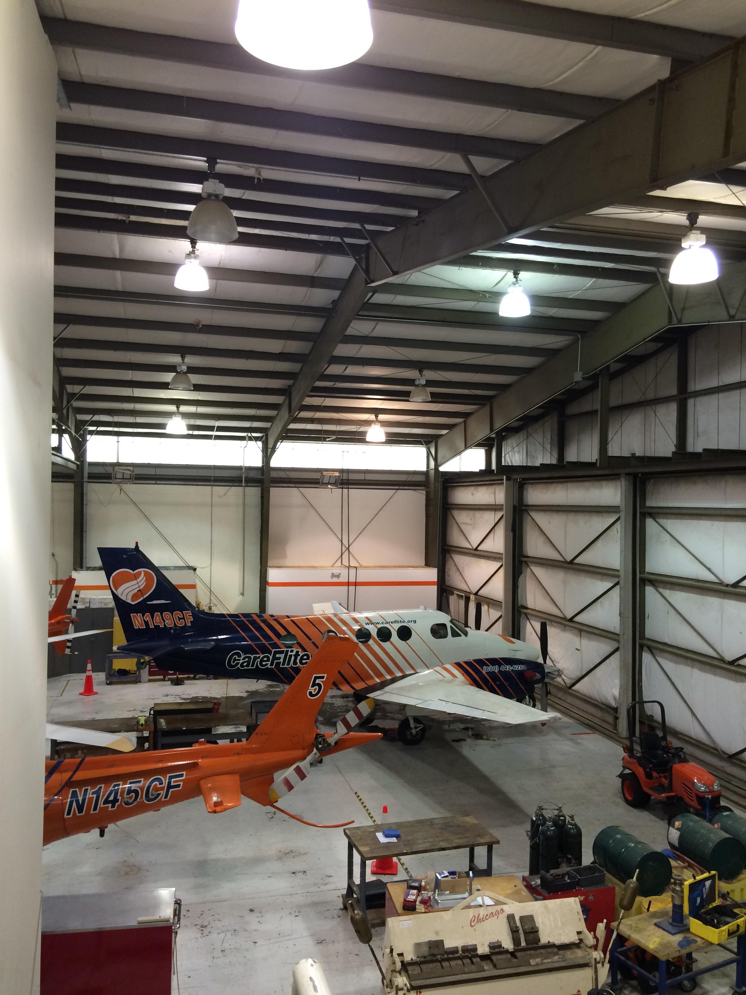 Hangars & additions