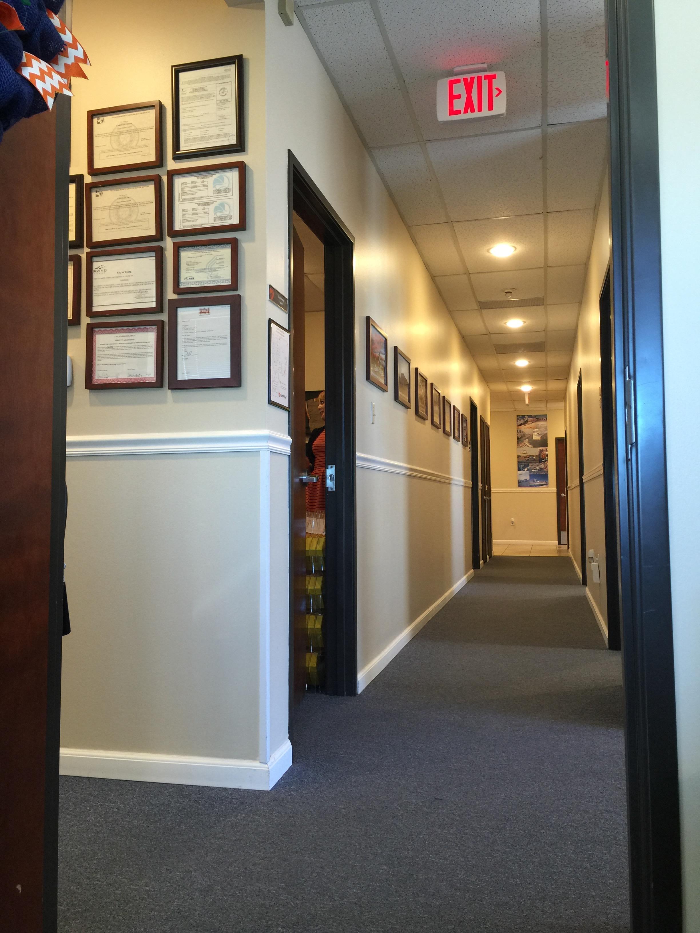 Paint, LED lights, Commercial carpet & flooring