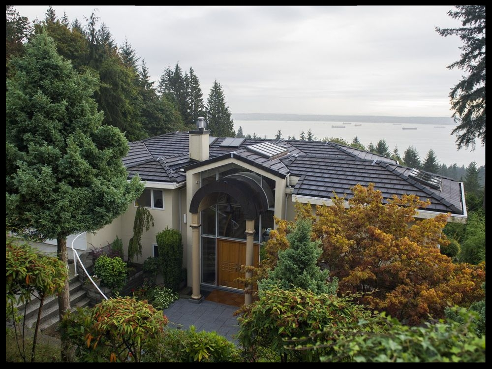 The house at 2790 Chelsea Close, West Vancouver, that a Chinese company is naming in an effort to collect on a Chinese court award against the homeowners.