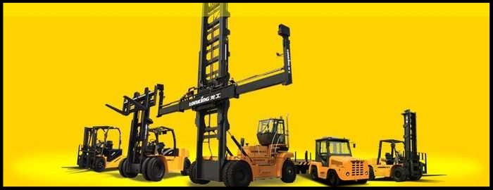 Lonking, a maker of heavy machinery, including these models, is trying to recover a Chinese court award through the B.C. courts. LONKING HOLDINGS /PNG