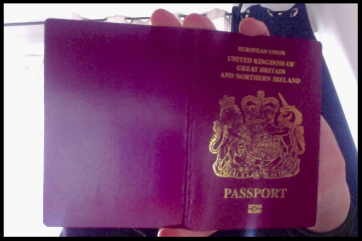 One dark web vendor shows what he claims to be a fake British passport for saleIBTimes UK