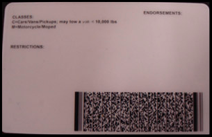 Scannable barcodes graced the back of Celtic's IDs.