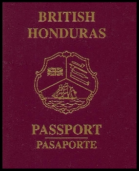 British Honduras passport (now Belize) was a British Crown colonyuntil June,1973.This is a common example of a Camouflage passport. -