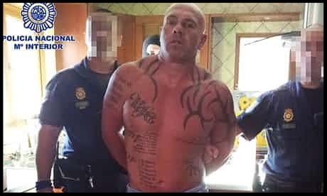 Mark Lilley is arrested in his villa near Malaga.