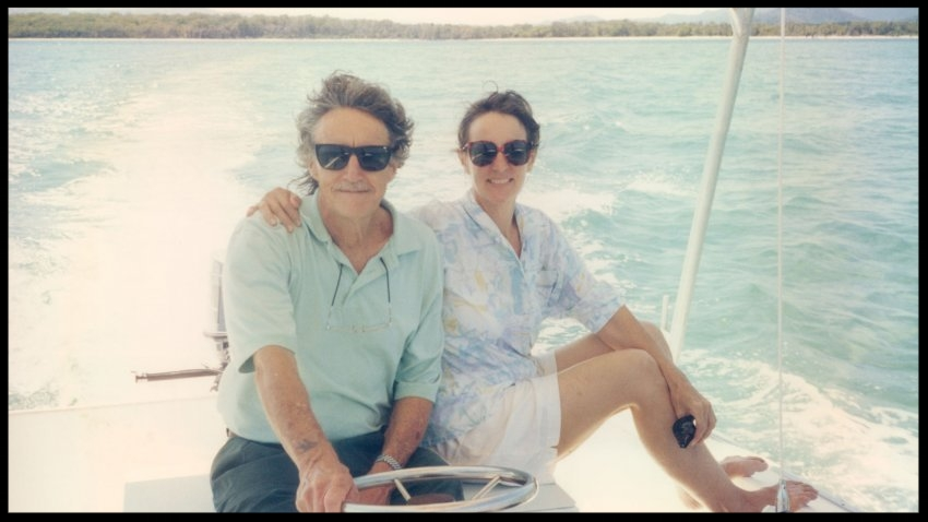 Lafferty and his wife, Janet, in 2000.(Courtesy of Janet Lafferty)