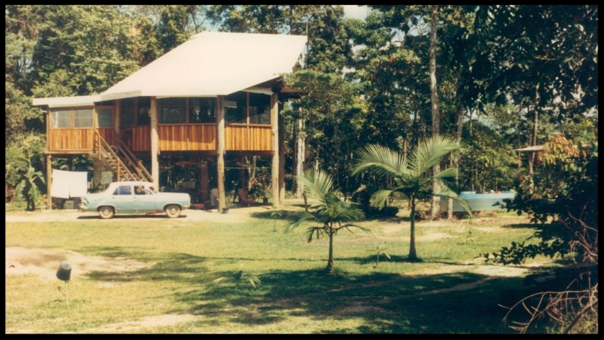 The Draintree Cruise Centre, which Lafferty built.(Courtesy of Janet Lafferty)
