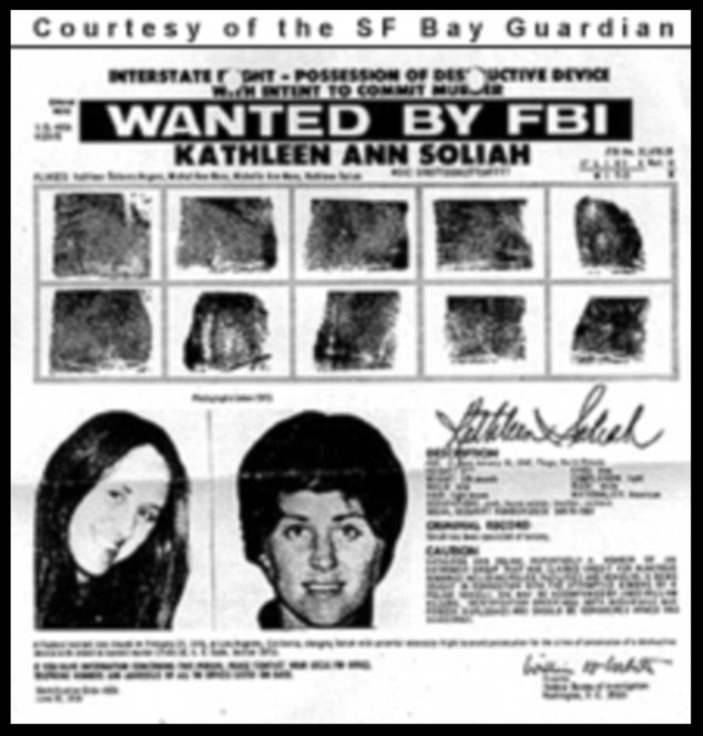 Different times: once a fugitive for attempting to blow up Los Angeles police officers, Kathleen Soliah - now known as Sara Jane Olson - is a grandmother