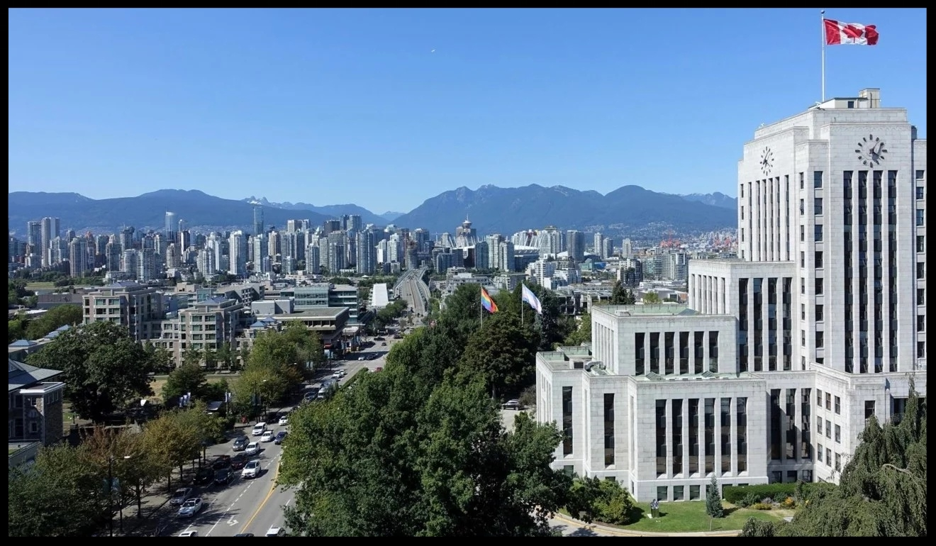 """Vancouver, seen from near City Hall, has long been the most popular destination for wealthy foreign-earning immigrants, whose role in boosting property prices has been attested to by peer-reviewed research. The Chinese millionaire clients of unlicensed immigration consultant Xun """"Sunny"""" Wang were among those who flocked to the city, though many breadwinners returned to China, while buying real estate and leaving families behind in Vancouver"""