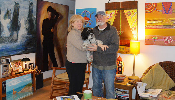 Deb Colligan & her husband Dennis Colligan