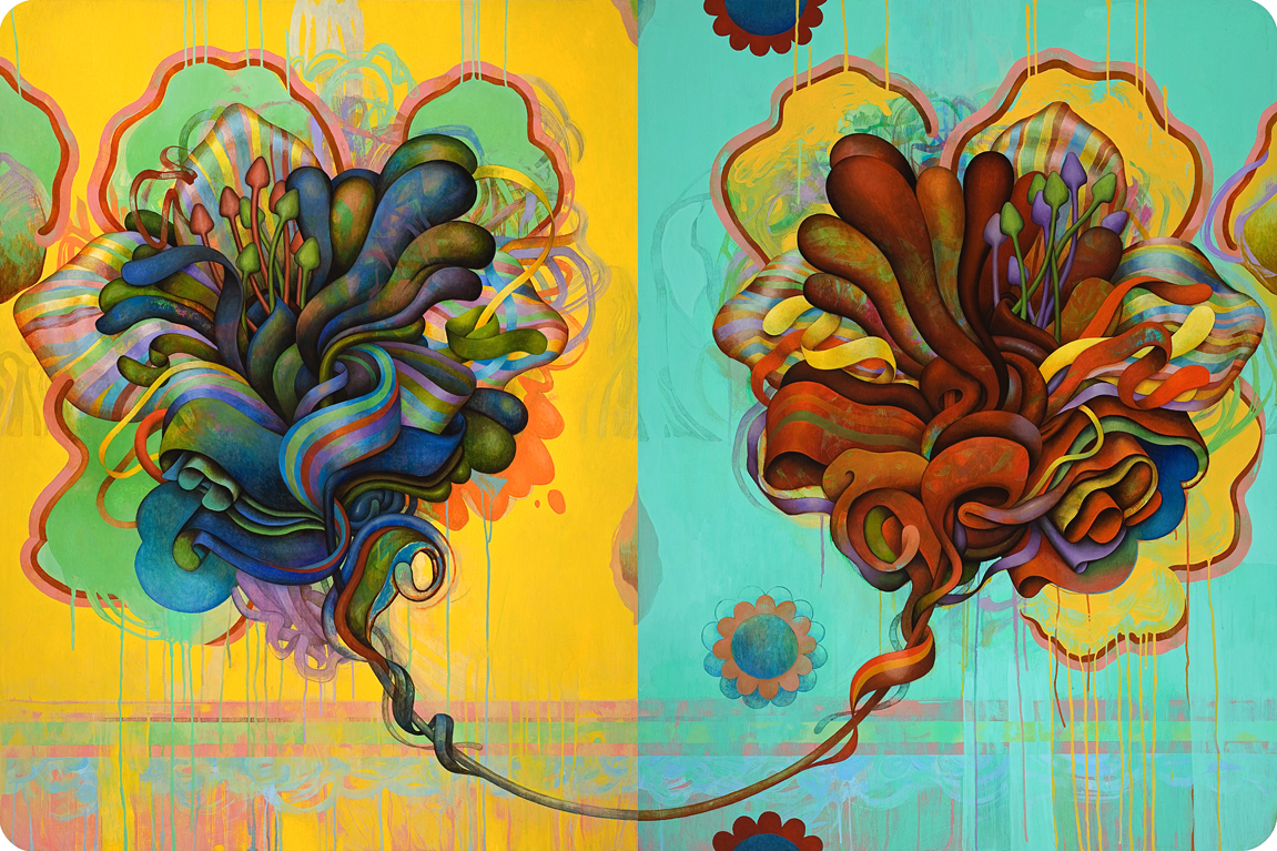 Number 7 (diptych)