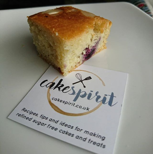 We want to shout out to our lovely friend Lindsey who set up Cake Spirit - a website sharing delicious sugar free cake recipes. Go and check our her page at www.cakespirit.co.uk  We had to take this pic before snaffling down the last piece. Almond and cherry cake - so delicious light and fluffy. Sweetened with a blend of erythritol and stevia.  We highly recommend this one! 😘