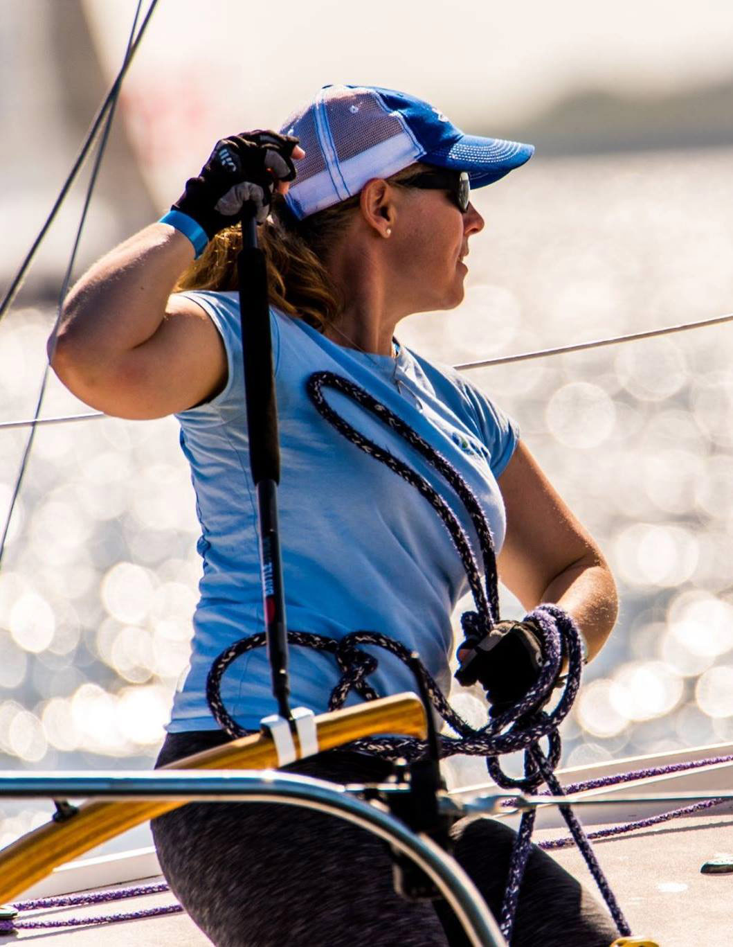 Our Captain - Our captain Erica received the 2018 J/24 World Championship Top Female Skipper Award. Our team won the prestigious Jaeger Women's Trophy in 2017 for beating all of the other female teams in the J/24 World Championship in Ontario, Canada.Every new racing season is a challenge to be better - to be the best racers we can be.