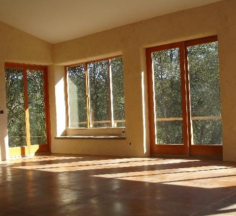 South facing windows