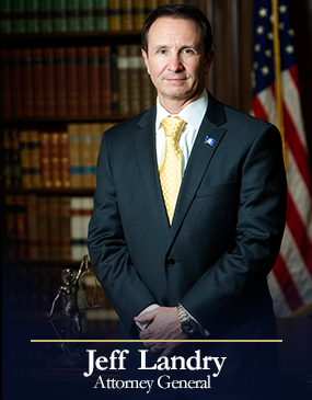 Photo source: LA Attorney General's Office