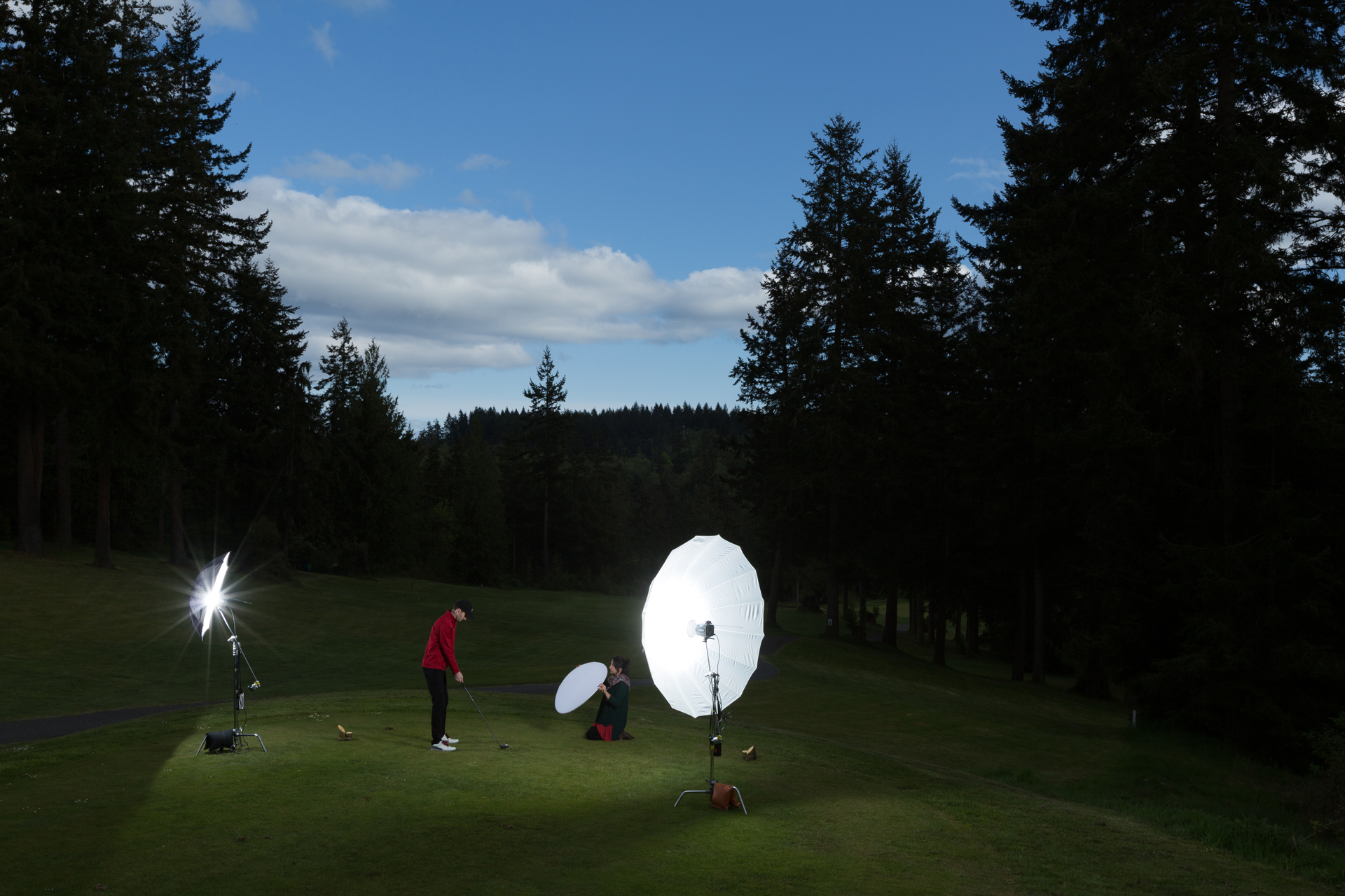 Commercial Photography Behind the Scenes