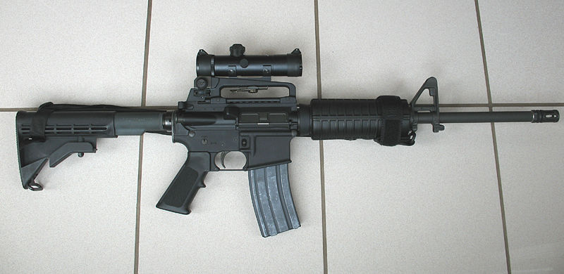 The AR-15. The weapon used in the Newtown shooting, the Orlando shooting, the Aurora shooting, and others.