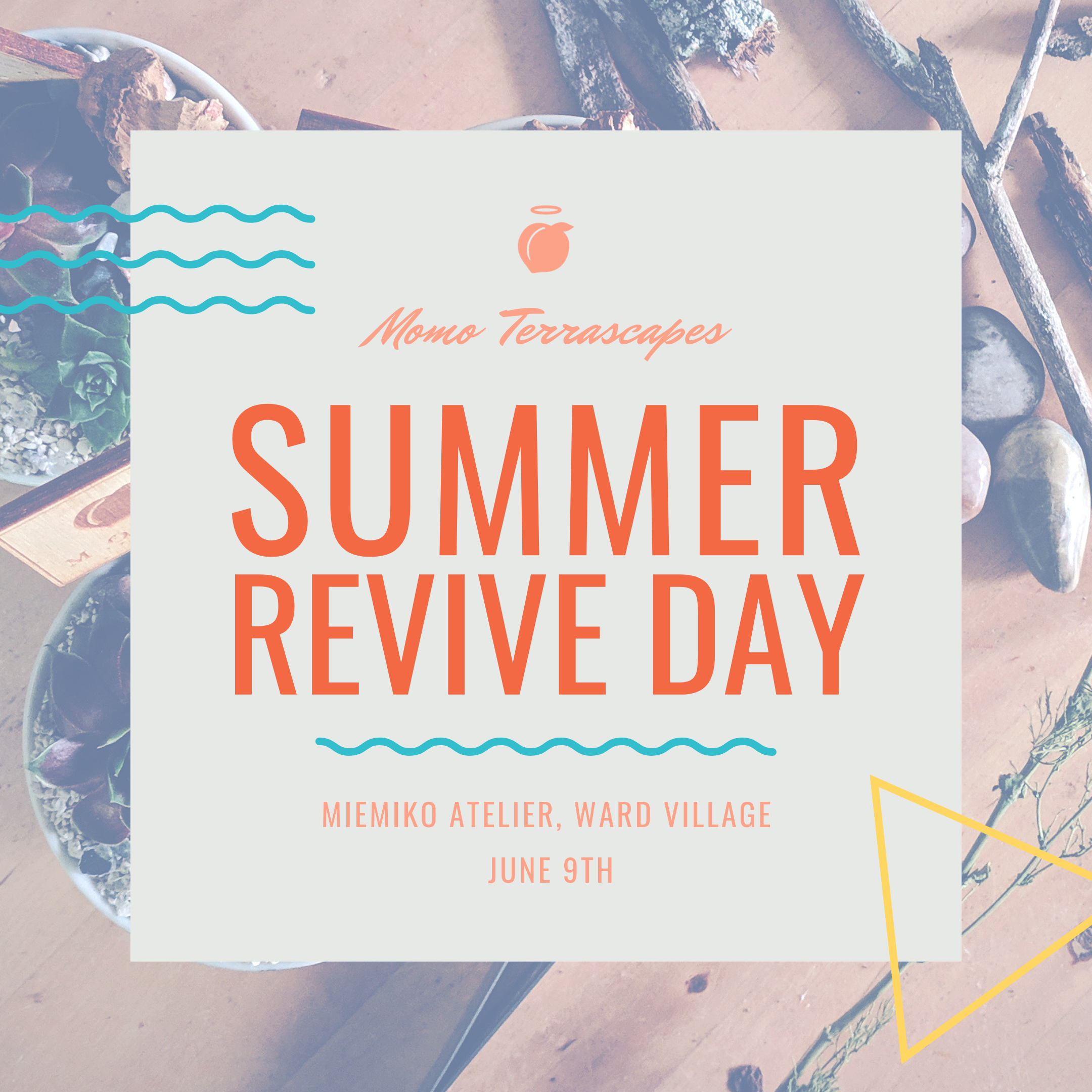 #revivethemomo - Join us for our very Summer Revive Day hosted by our friend's at Miemiko Atelier!