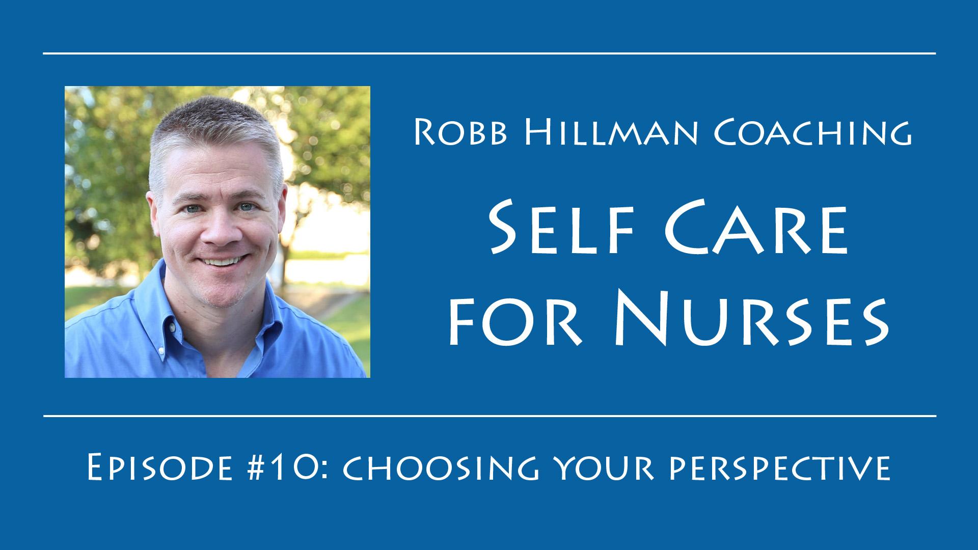 self care life coaching for nurses