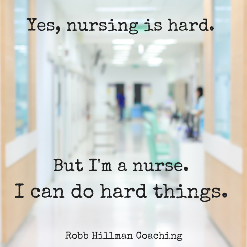 Nurse Robb Hillman Life Coaching