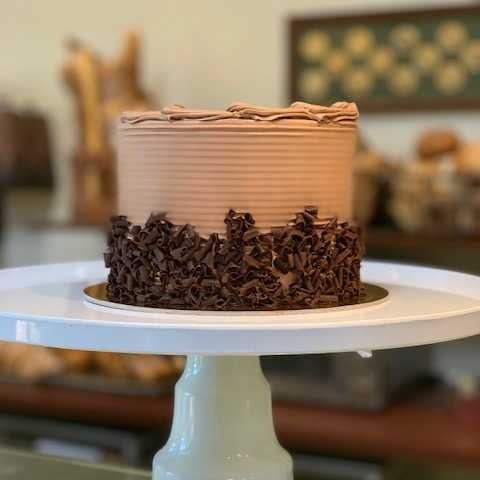 Imagine Cake   Chocolate cake with a chocolate mousse filling topped with chocolate buttercream frosting