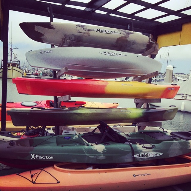 Come be the first to paddle in one of our awesome new kayaks!