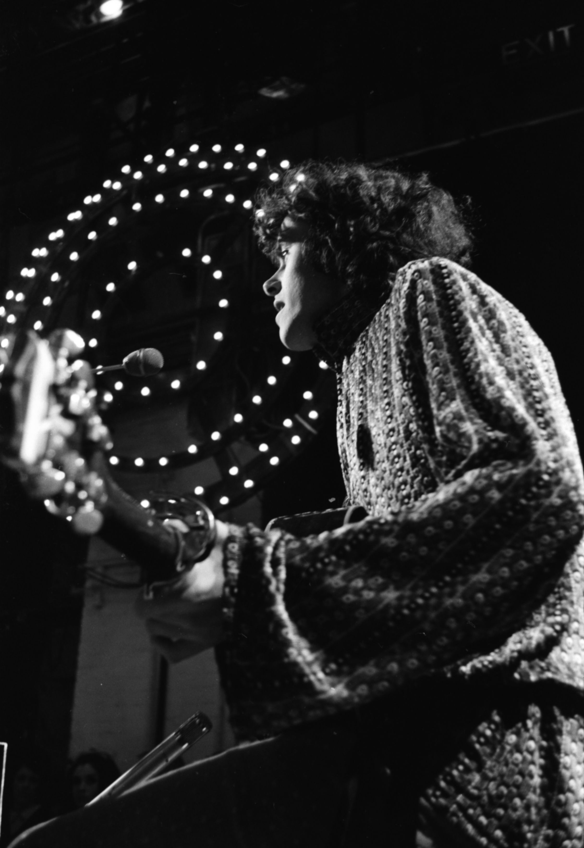 Donovan, BBC Top of the Pops. London 1968 Photo by Frank Habicht