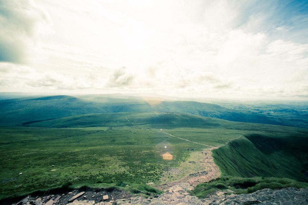 Breacon Beacons National Park Landscape