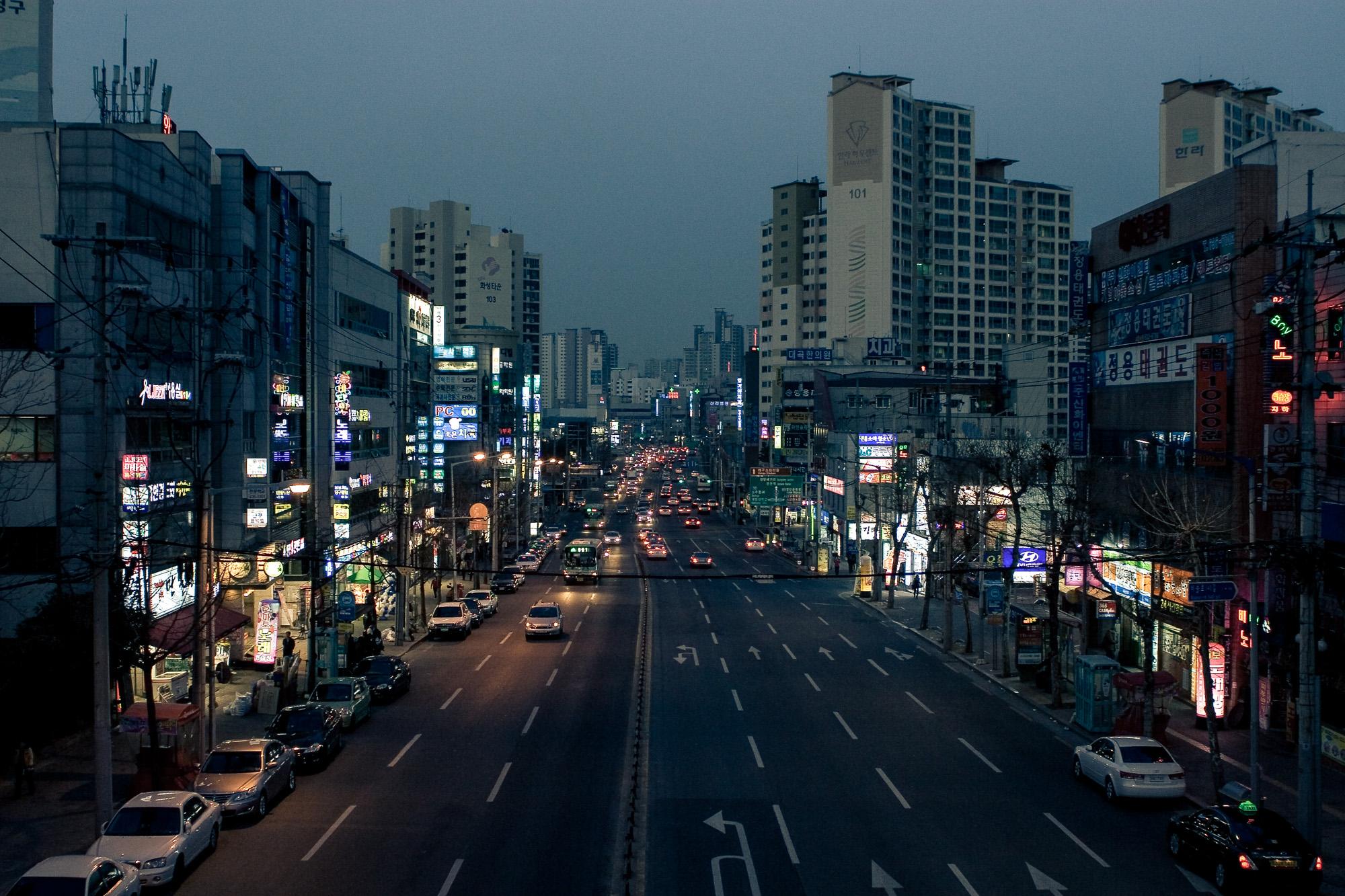 First Night in Korea, Chris Chucas