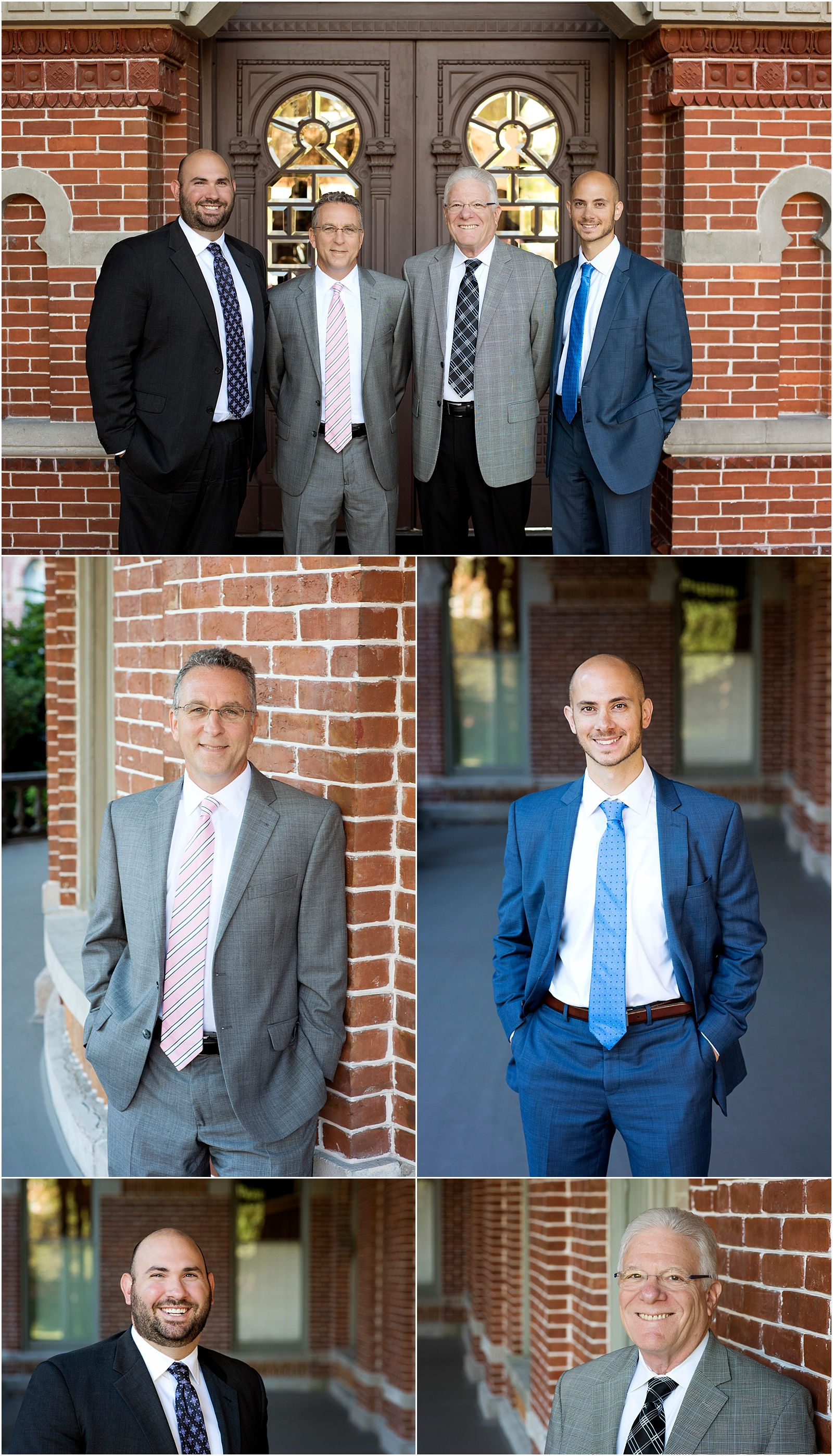 financial advisor team headshot