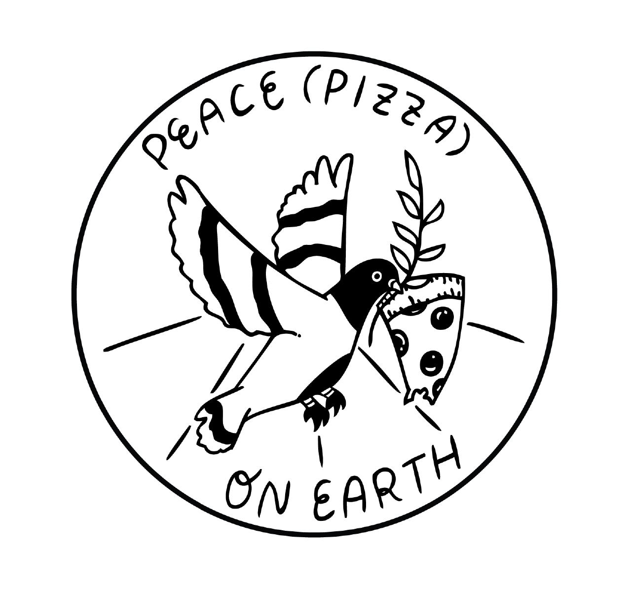 Peace (Pizza) on Earth