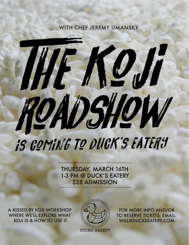The Koji Roadshow