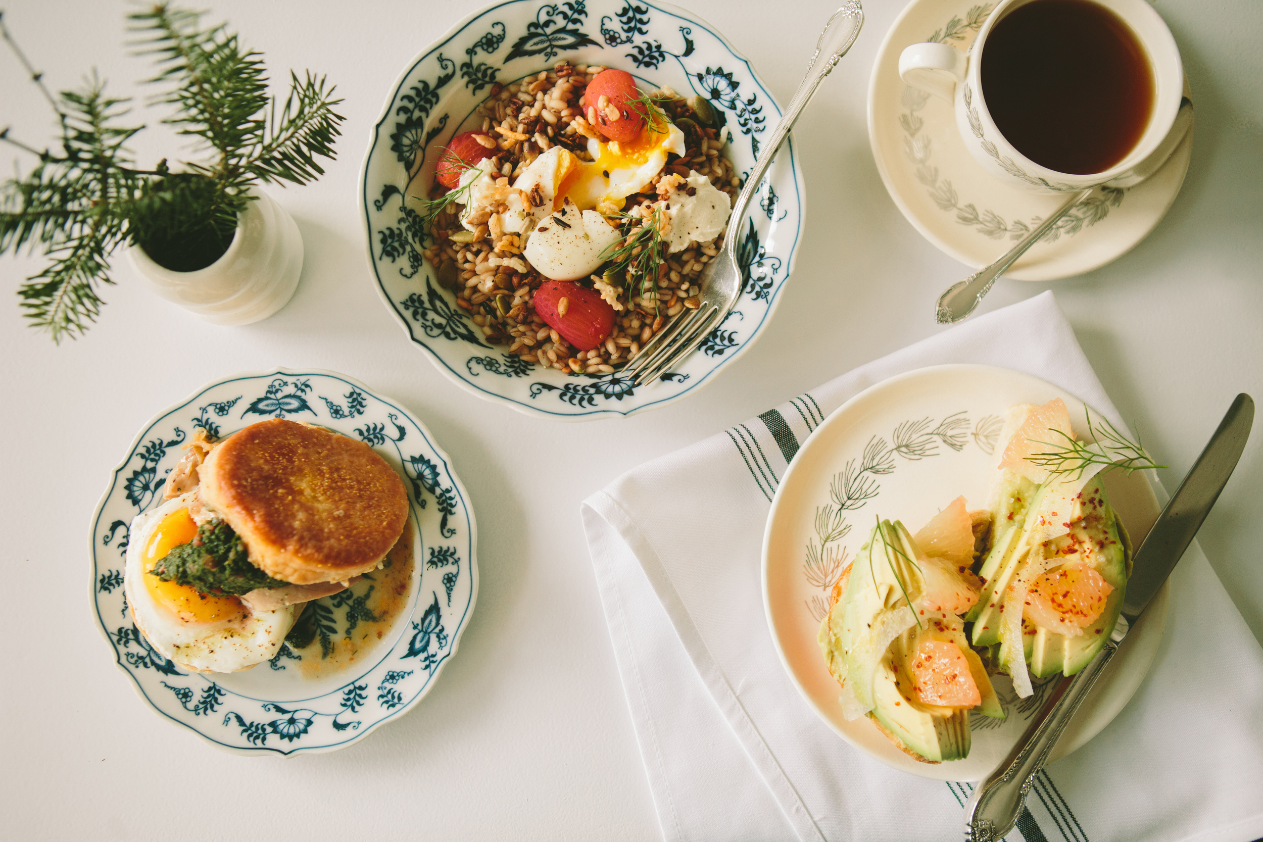 breakfast at juliet. casual options to stay or take away