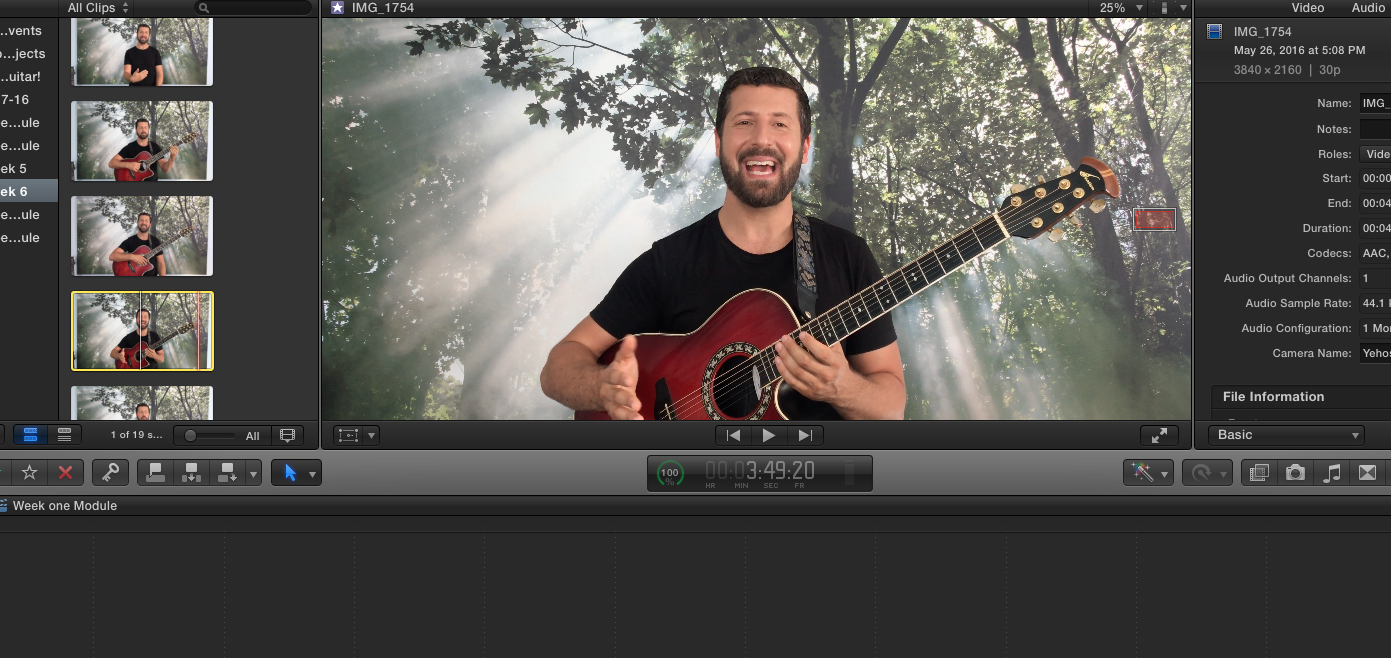 Yoga of Guitar 6 Week Online Course editing!!!