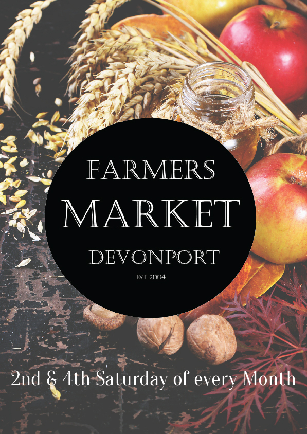 Visit the showgrounds in Devonport on the 2nd & 4th Sundays of the month for seasonal fruits & veg, plus hot food and a car boot sale