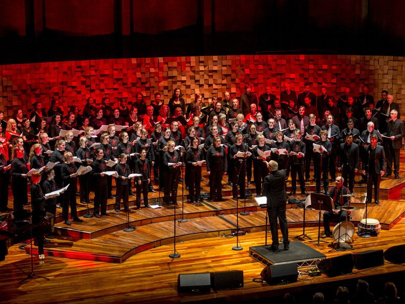 Choirs, voices, sound. Can't miss the Festival of Voices