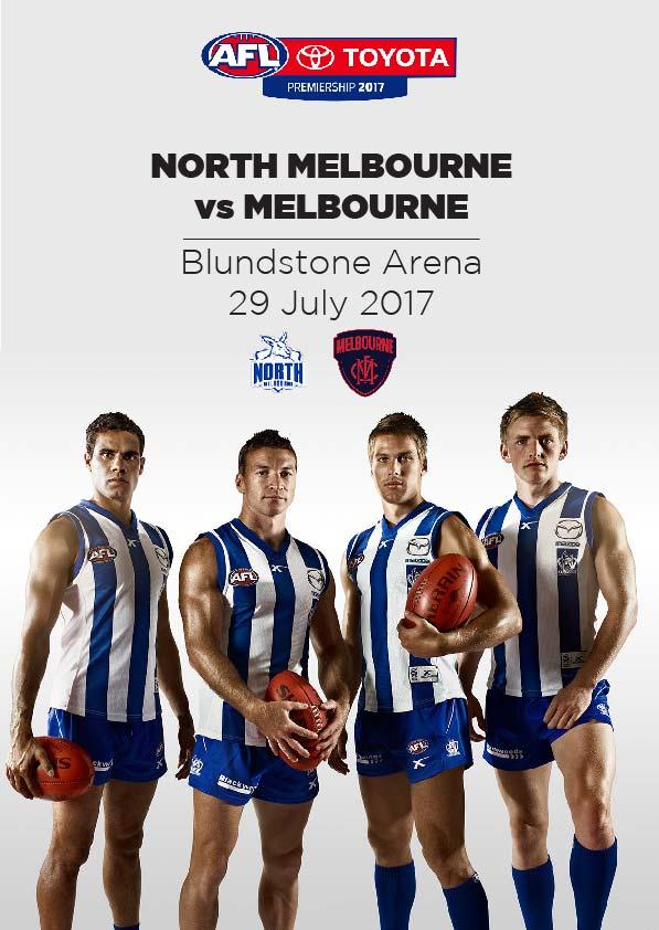 29 July, Hobart - North Melbourne vs Melbourne