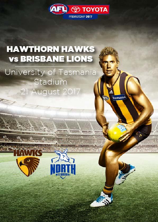 21 August, Launceston - Hawthorn vs North Melbourne