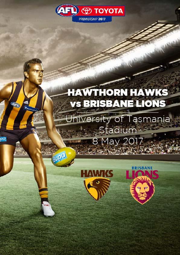 8 May, Launceston - Hawthorn vs Brisbane