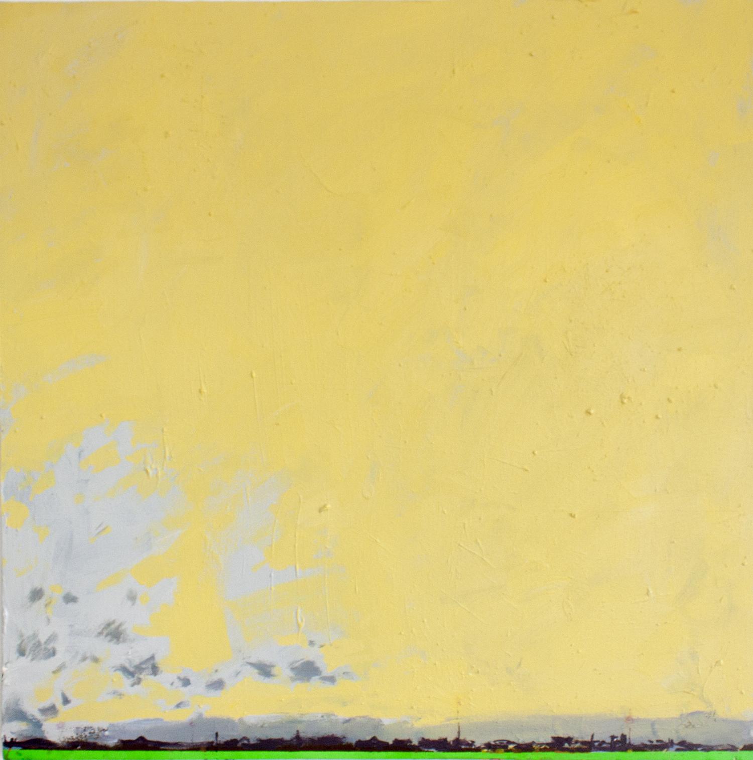 Paisaje, acrílico sobre canvas, 2012