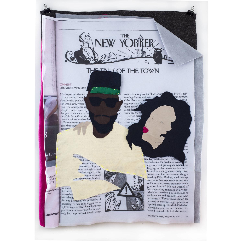 Me and Bae,  print digital sobre fieltro,2014.