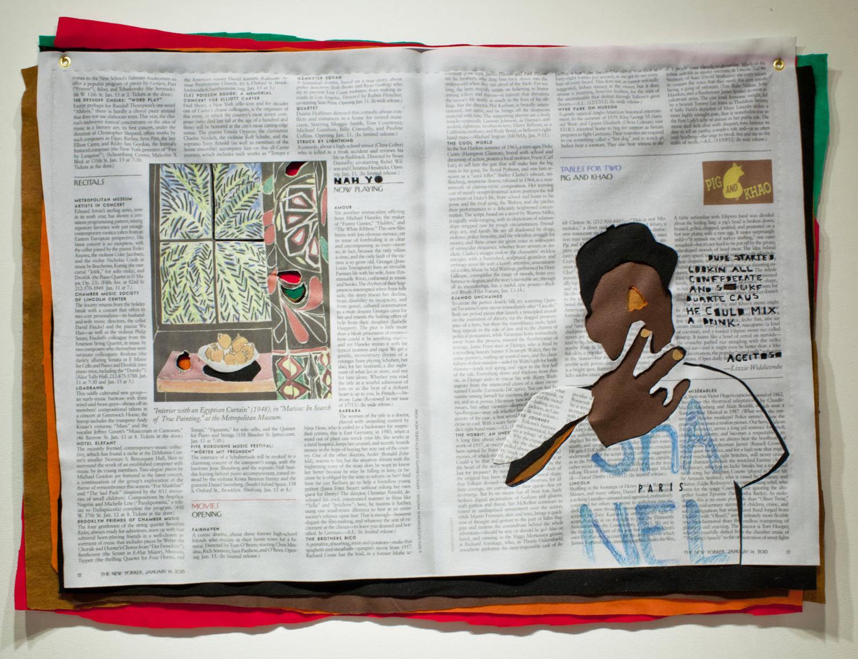 Matisse Peace,  print digital sobre fieltro, 2014.