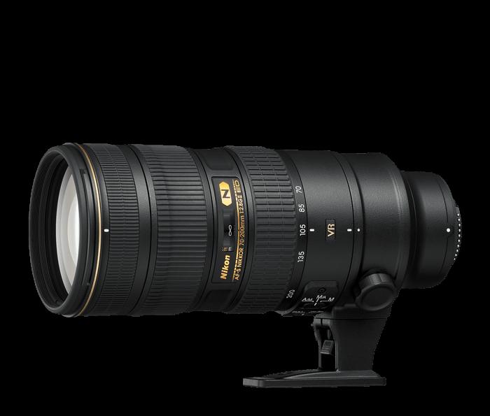 NIKKOR 70-200mm f2.8G ED VRII