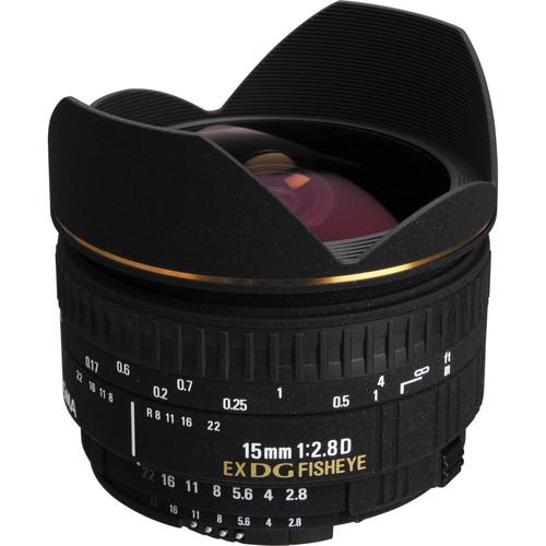 Sigma 15mm f2.8 EX DG Diagonal Fisheye Lens