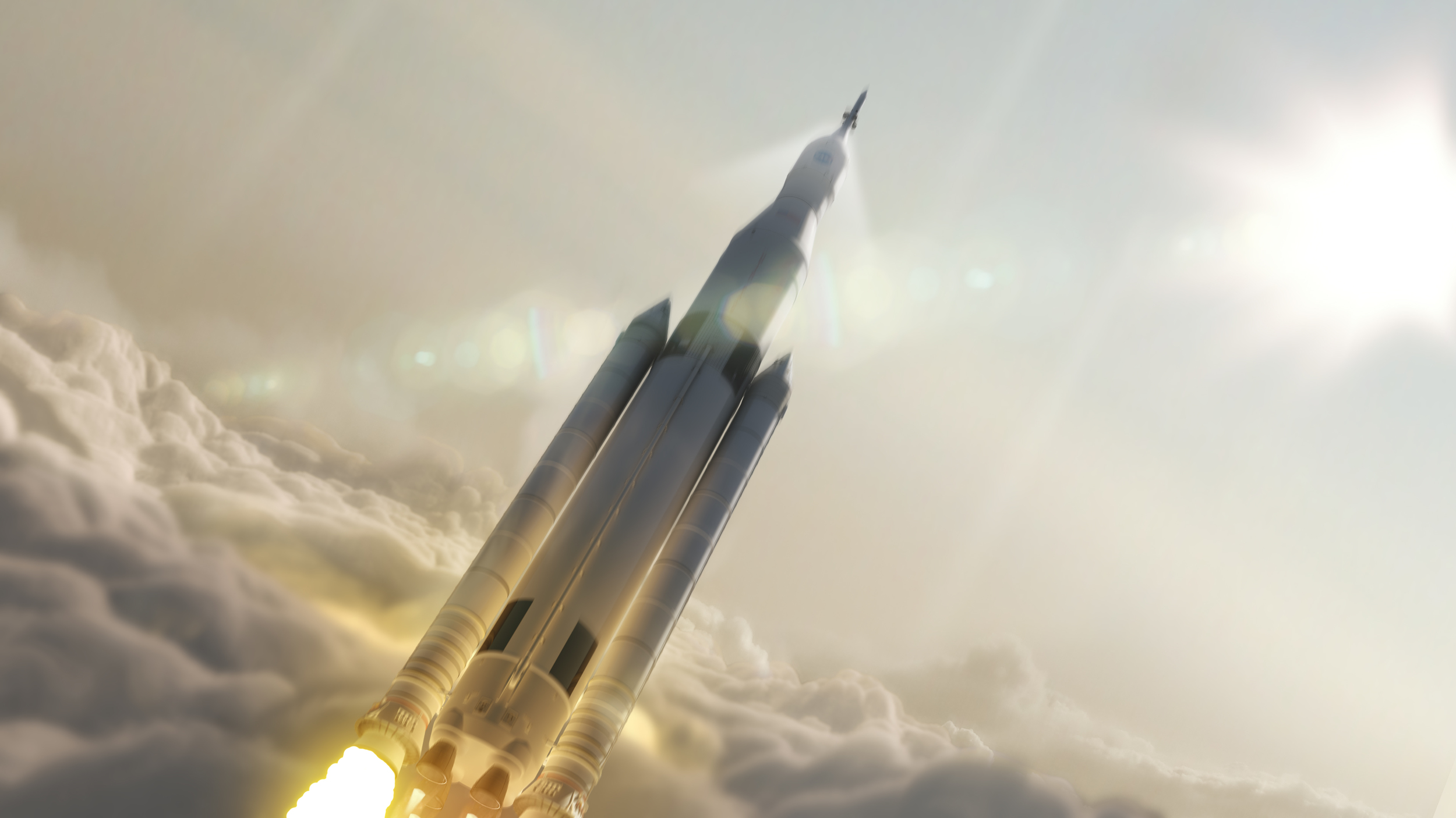 Exploring Space   NASA's Space Launch System enables human space exploration to the moon, to Mars, and beyond.   Learn more
