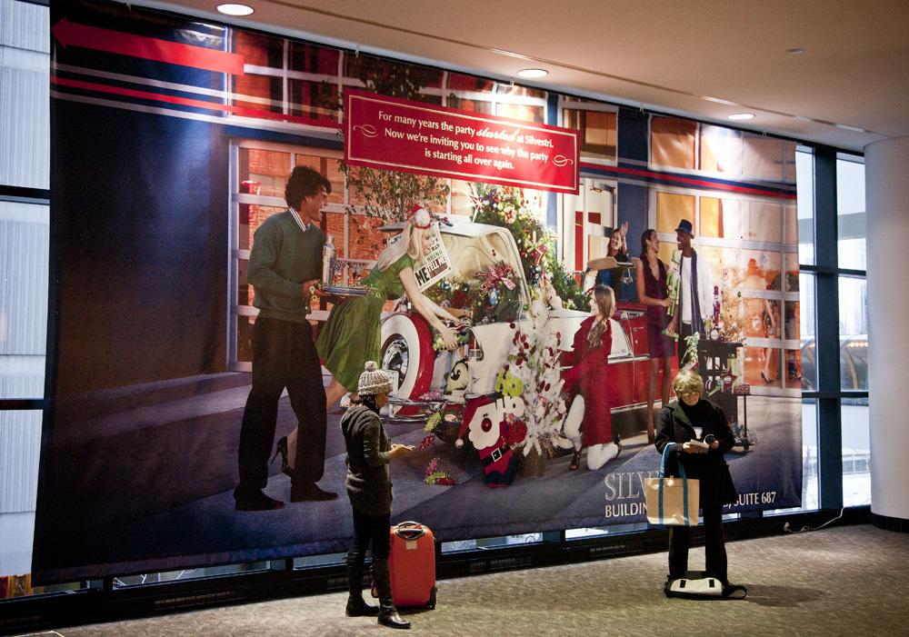 Silvestri mural for AmericasMart