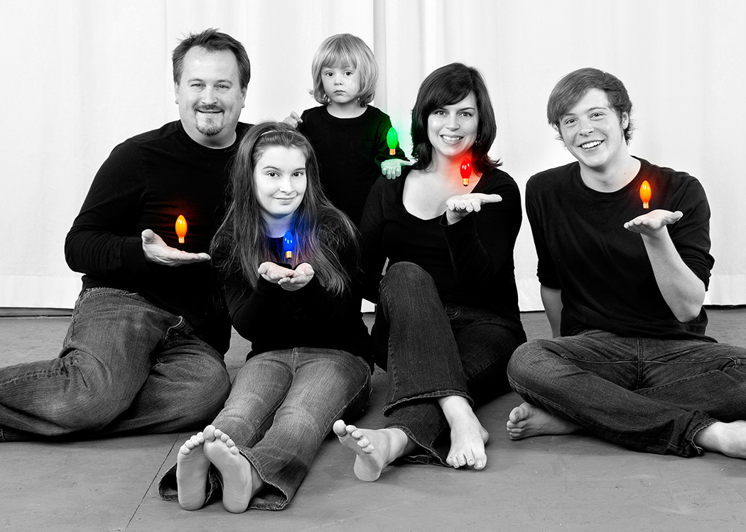 2010 inside caption: Wishing your family a magical holiday season!